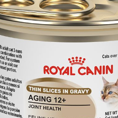 Tinned food for cat joint support